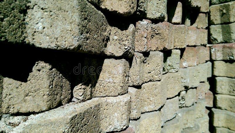 Briques vieilles image libre de droits