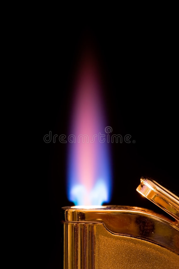 Briquet brûlant photos libres de droits