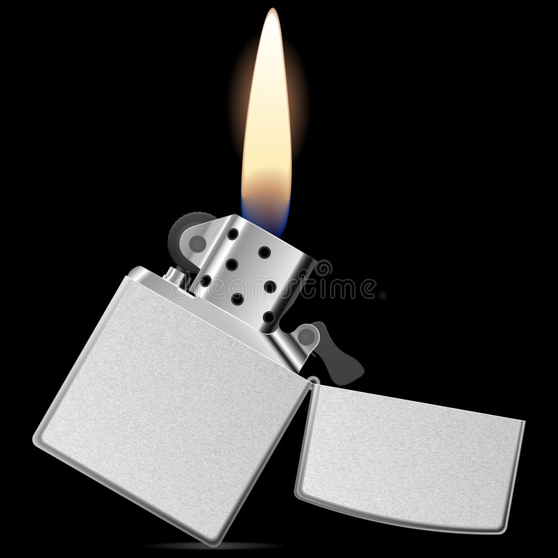 Briquet de vecteur illustration libre de droits