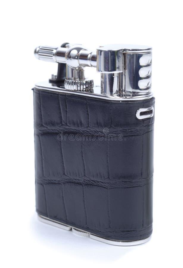 Briquet noir fermé de cigarette photos libres de droits