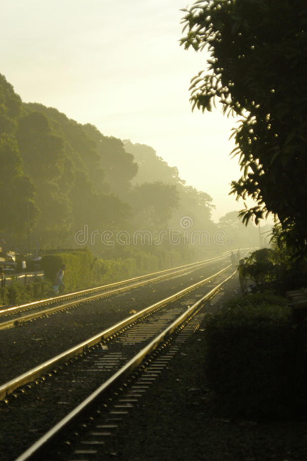Brisa ferroviaria fotografía de archivo libre de regalías