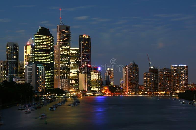 Brisbane foto de archivo libre de regalías