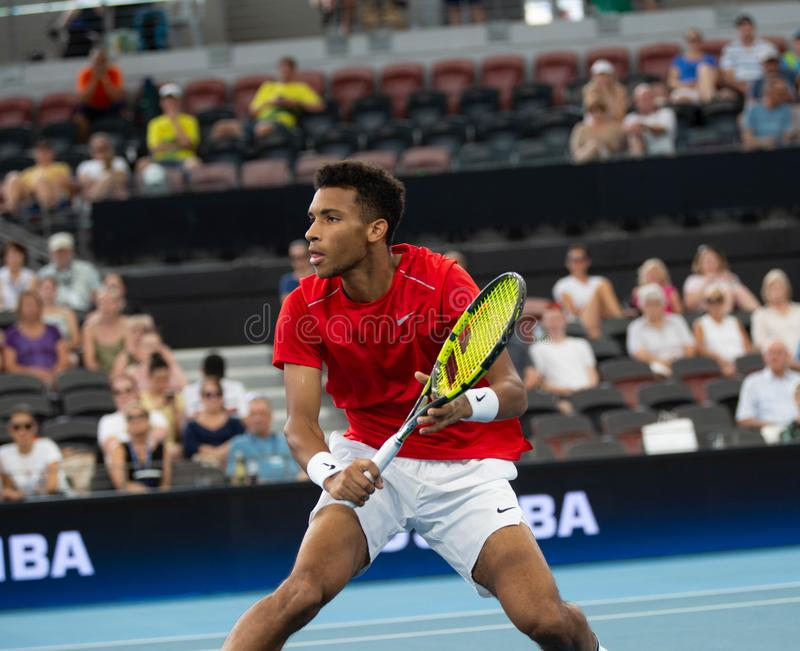 Brisbane ATP Cup 2020, Canada vs Germany stock images