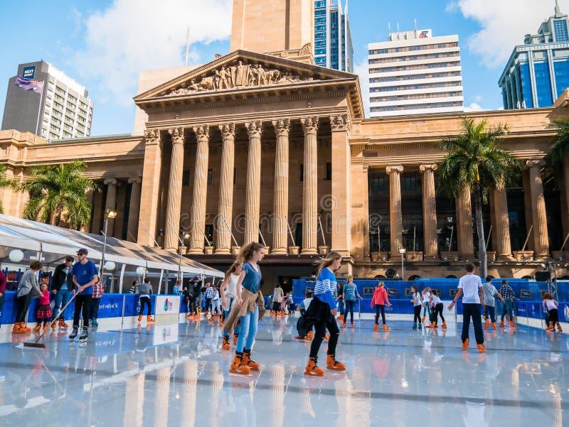 BRISBANE, AUS - 24 JUIN 2016 : Festival d'hiver à Brisbane, outdoo photographie stock