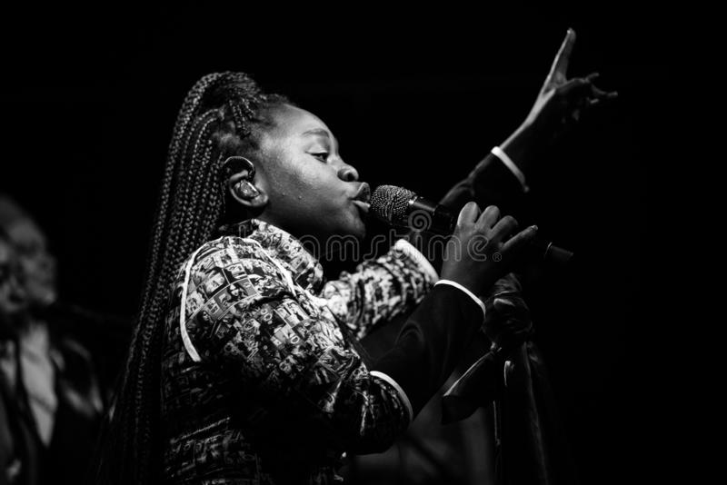 Sampa the Great Live royalty free stock images