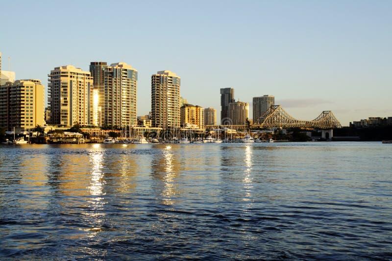 Brisbane Australia del río foto de archivo libre de regalías
