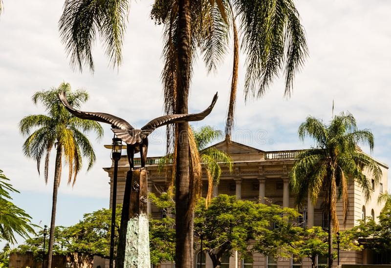 Brisbane, Australia - 2019 Fotografía del viaje de la ciudad de Brisbane, Queensland imagen de archivo