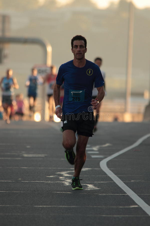 BRISBANE, AUSTRALIA - 2 SETTEMBRE: Chris Matthews che partecipa al fotografie stock libere da diritti
