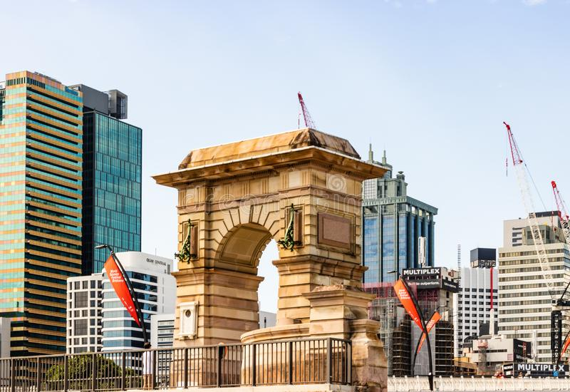 Brisbane, Australia - 2019. Travel photography of Brisbane city, Queensland royalty free stock image