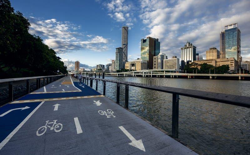 Brisbane Australien royaltyfria foton