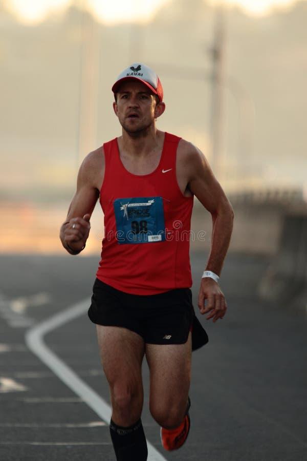 BRISBANE AUSTRALIEN - SEPTEMBER 02: Clay Dawson deltagande i arkivfoton