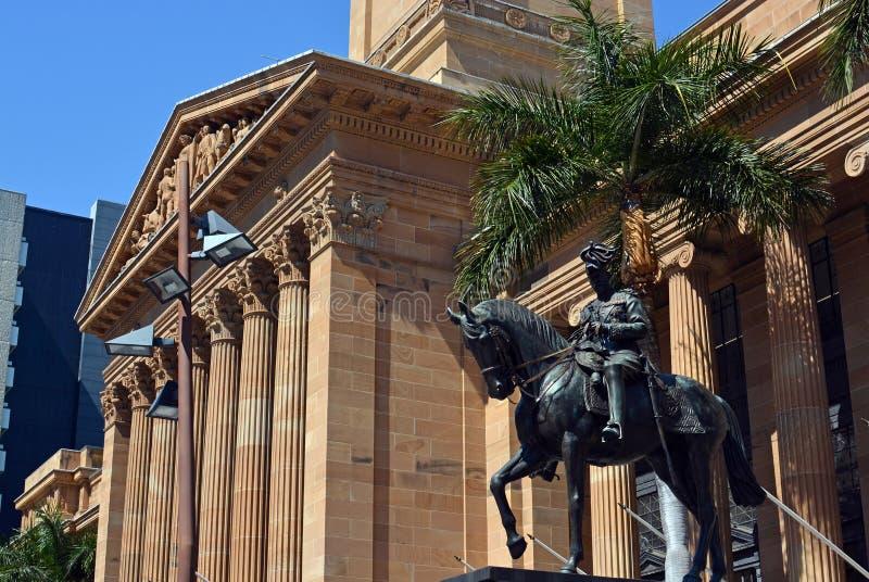 Brisbane City Hall, Queenland Australia stock image