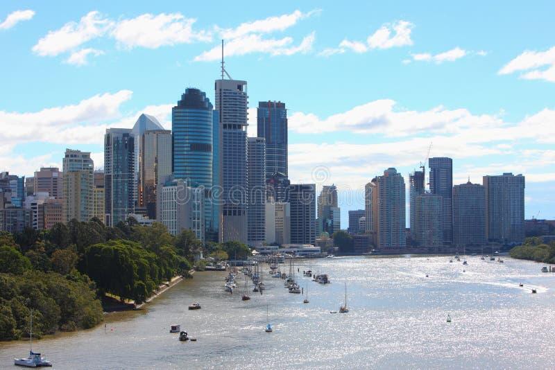 Brisbane city scenes royalty free stock photography