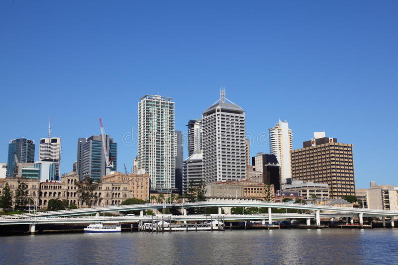 Download Brisbane City From South Bank Editorial Photo - Image: 23445231