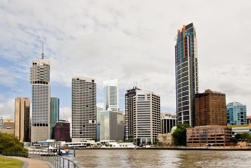 Brisbane cityscape royalty free stock photos