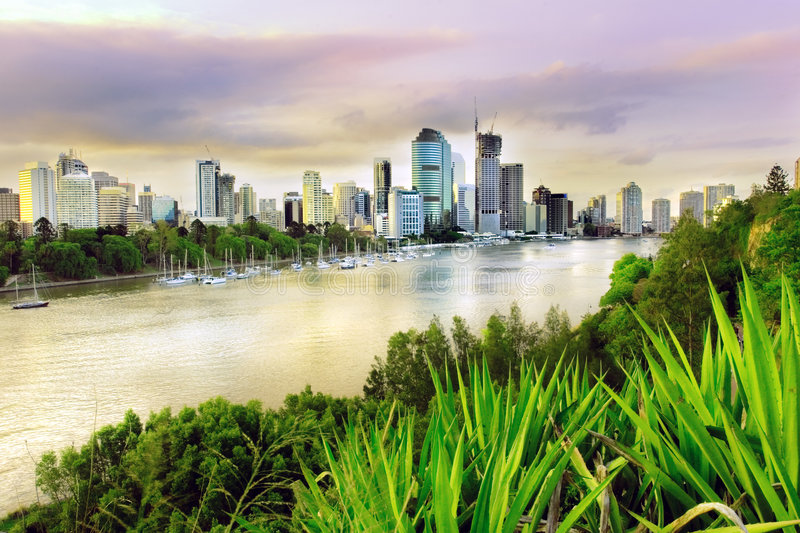 Download Brisbane evening stock photo. Image of tourism, afternoon - 2044764
