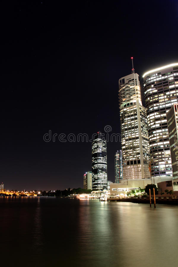 Download Brisbane Financial District Stock Image - Image: 13747369