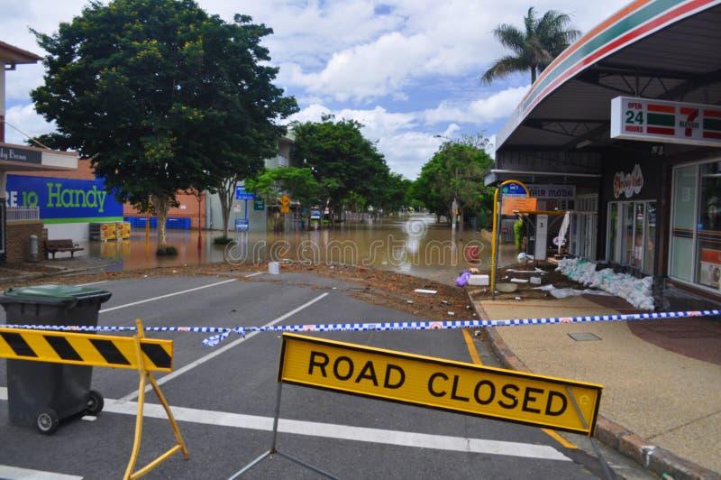 Brisbane Floods1 fotografia de stock royalty free