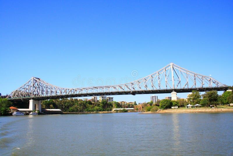 Brisbane-Geschichte-Brücke lizenzfreies stockfoto