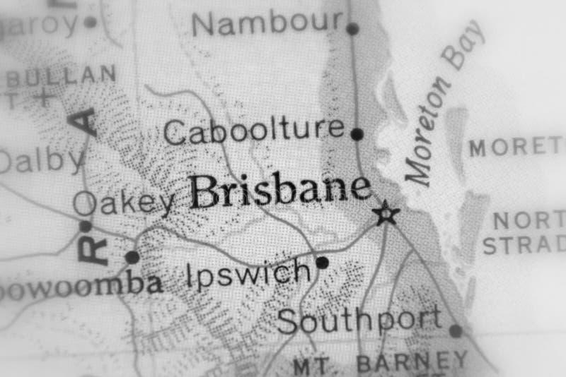 Brisbane huvudstad av australiska staten av Queensland fotografering för bildbyråer