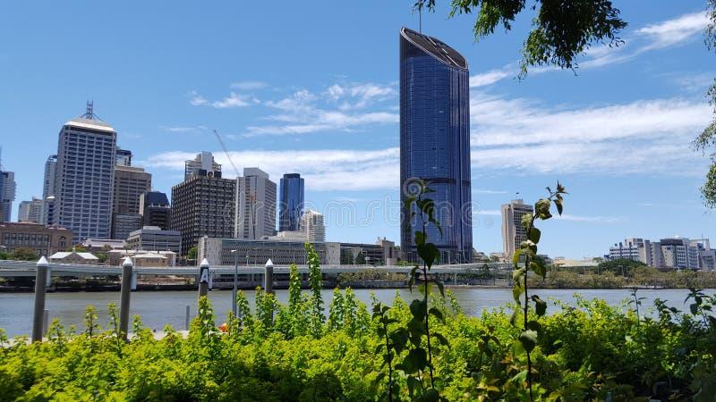 Brisbane miasta linia horyzontu - Nowy budynek zdjęcia royalty free