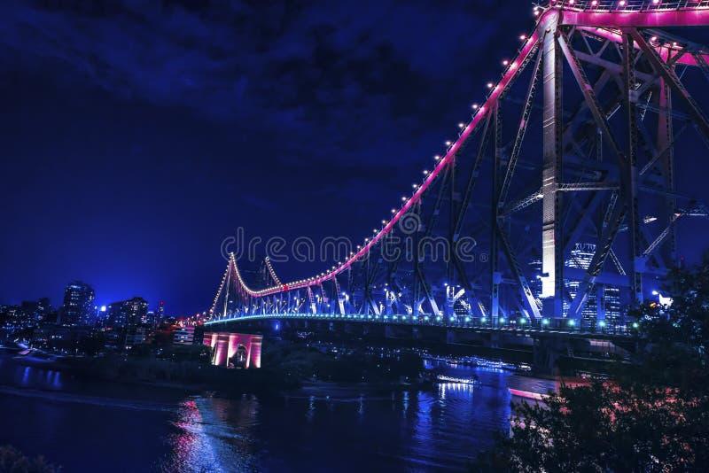 Brisbane opowieści mosta głąbik zdjęcie royalty free