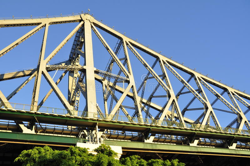 Brisbane - puente de la historia, Australia foto de archivo