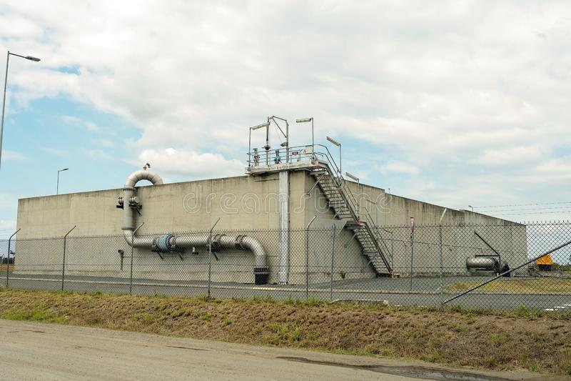 Sewage Treatment Plant royalty free stock images