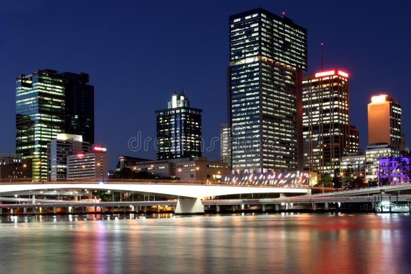 Brisbane-Skyline. lizenzfreies stockbild
