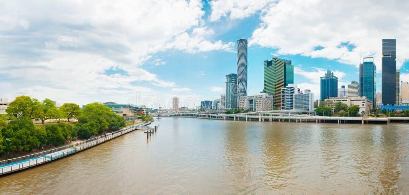 Brisbane-Skyline lizenzfreie stockbilder