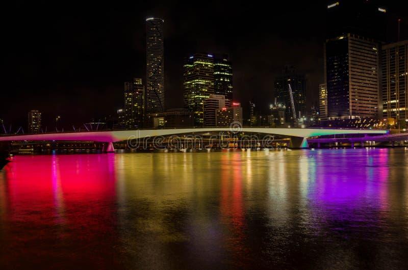 Brisbane Southbank stock afbeelding