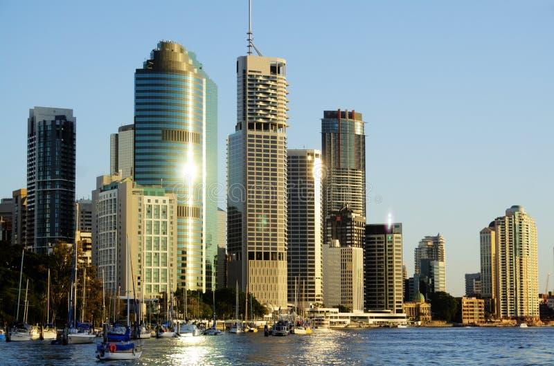 Brisbane-Stadt Australien stockbilder