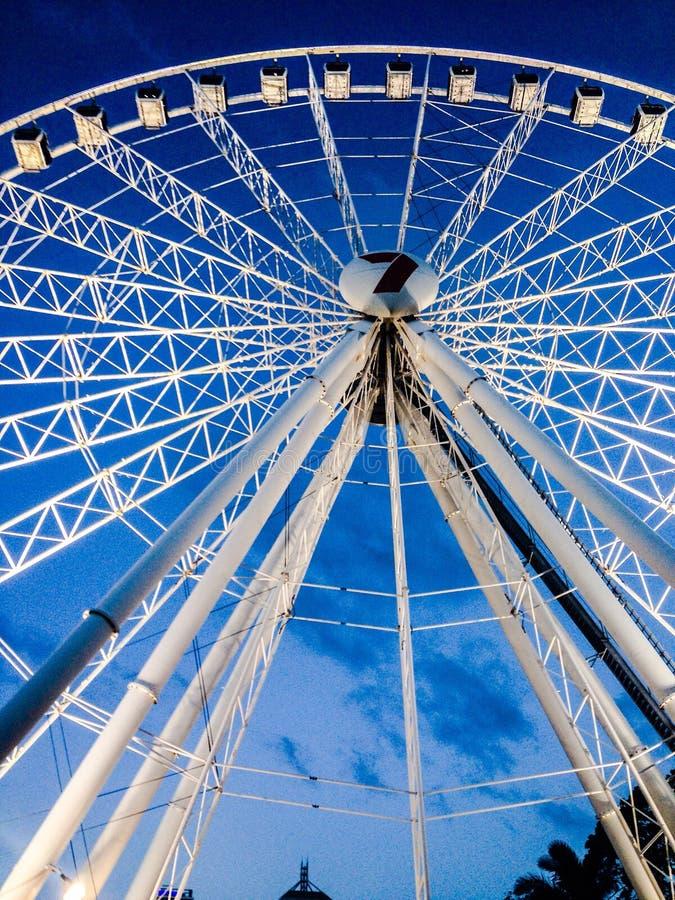 Brisbane wheel stock photo