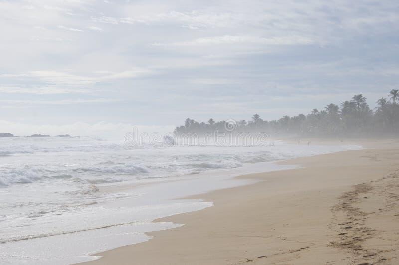 Brise am Strand lizenzfreie stockfotos
