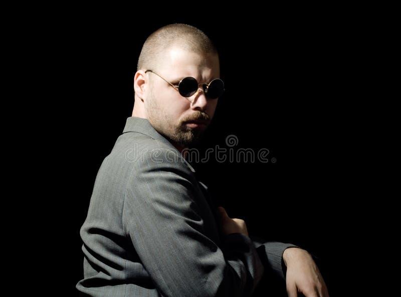 Bristly Mann lizenzfreies stockfoto