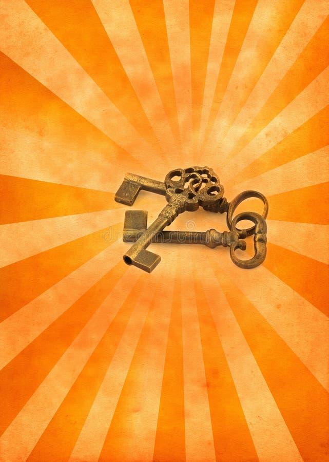 bristningen keys lampa royaltyfri foto