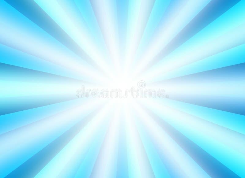 Bristningsbakgrund för presentationen med blått blandar färg vektor illustrationer