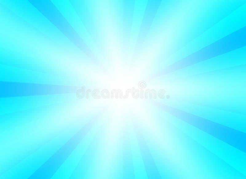Bristningsbakgrund för presentationen med blått blandar färg stock illustrationer