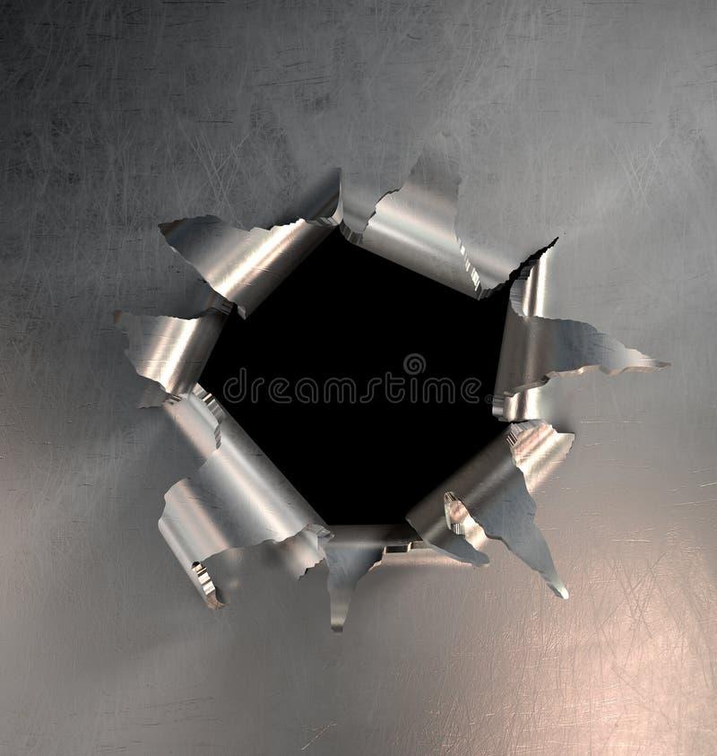 bristningsmetall royaltyfria foton