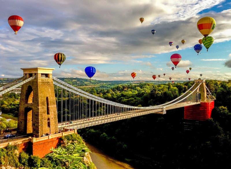 Bristol Balloon Fiesta immagini stock