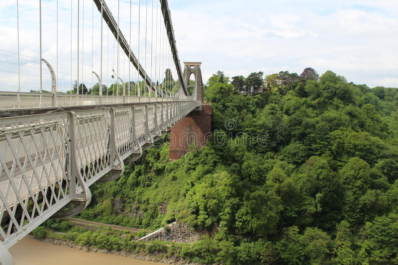 Bristol Bridge lizenzfreie stockfotografie
