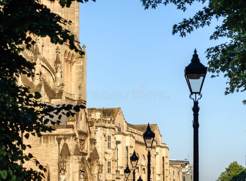 Bristol Cathedral UK arkivfoto