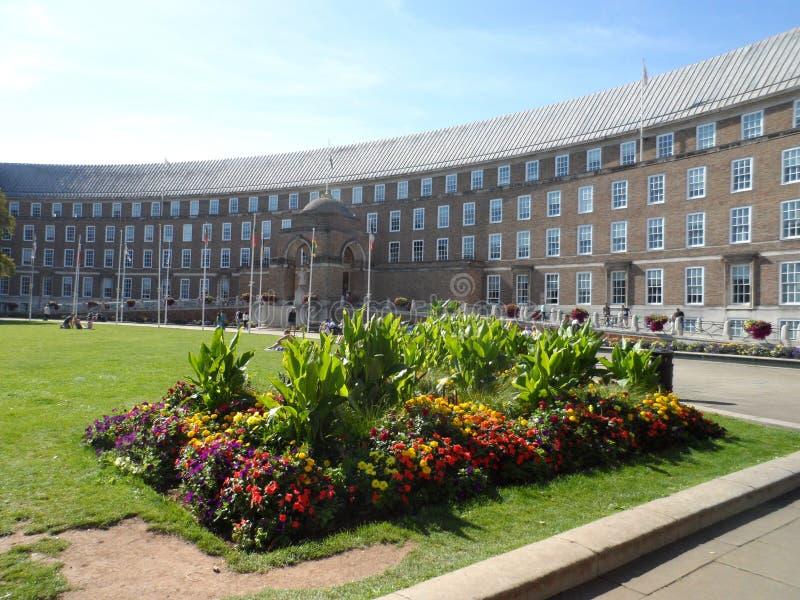 Bristol City Hall Local Government Council Building stock photos