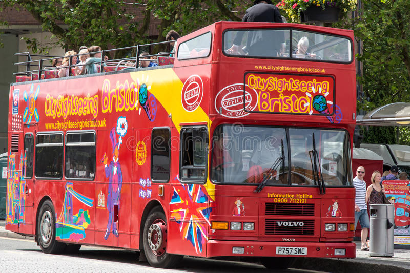 Download Bristol City Sightseeing Bus Editorial Stock Photo - Image: 26237053