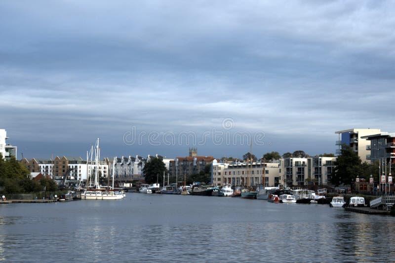 Bristol Docks foto de archivo libre de regalías