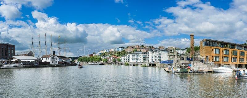 Bristol Dockside imagen de archivo libre de regalías