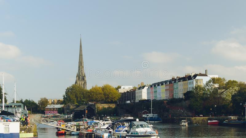 Bristol Floating Harbour photos stock