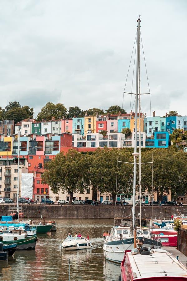 Bristol Harbour Festival i Bristol, Förenade kungariket, Europa royaltyfri bild