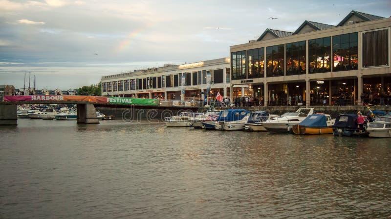 Bristol Harbourside festiwal 2016 obraz stock