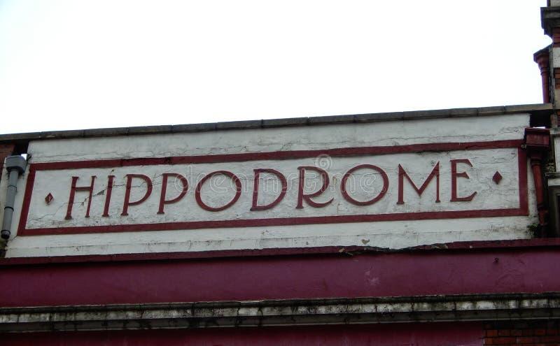 The Bristol Hippodrome theatre stock photos